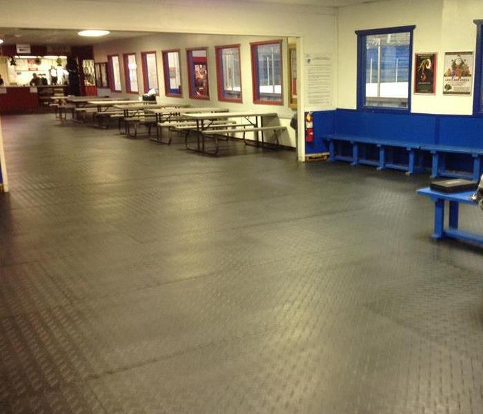 Ice Rink Water Loss  After