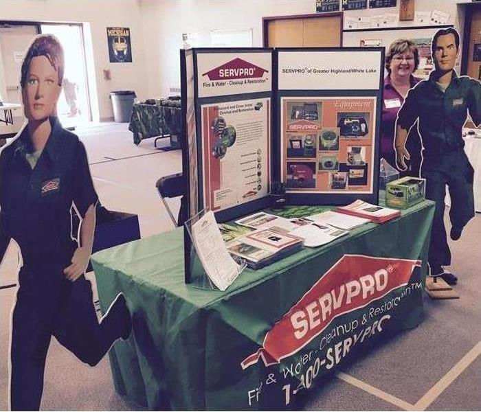 SERVPRO at our local Expo